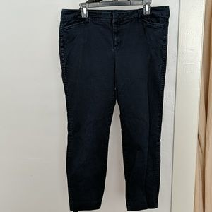 Old Navy Pixie Pants Dark Blue